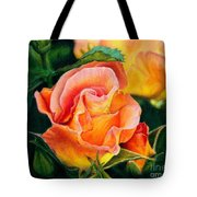 A Rose For Nan Tote Bag by Amanda Jensen