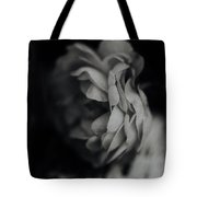 A Rose In Black And White Tote Bag