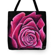 A Rose In Time Tote Bag
