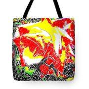 A Rose Is Tote Bag