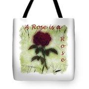 A Rose Tote Bag