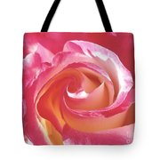A Rose's Heart  Tote Bag