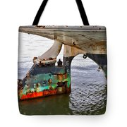 A Rudder Of Many Colors Tote Bag