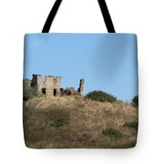 A Ruin In The Hills Of Tuscany Tote Bag