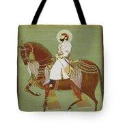 A Ruler On Horseback Tote Bag