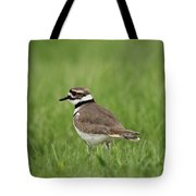 A Run Through The Grass Tote Bag