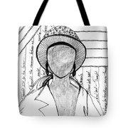 A Sad Woman Tote Bag