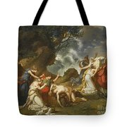 A Scene From Classical Mythology Tote Bag