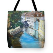 A Scene In Prague 2 Tote Bag