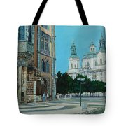 A Scene In Prague Tote Bag
