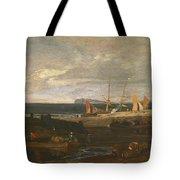 A Scene On The English Coast Tote Bag