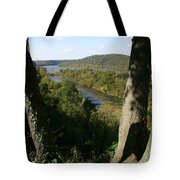 A Scenic View Of The Potomac River Tote Bag