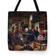 A School Class  Tote Bag