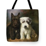A Scottish And A Sealyham Terrier Tote Bag