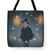 A Sea Witch's Blessed Yule Tote Bag