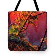 A Season's  Sunset Dusting Tote Bag