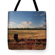 A Seat With A View Tote Bag