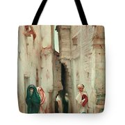 A Secret Admirer Tote Bag by Guillaume Charles Brun