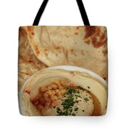 A Serving Of Humus Tote Bag