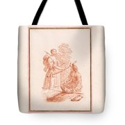 A Shepherdess And A Fishseller Tote Bag