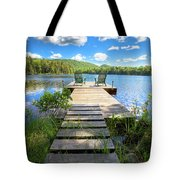 A Short Walk To Paradise  Tote Bag