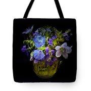A Shot Of Springtime Wildflowers Tote Bag