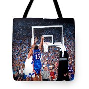 A Shot To Remember - 2008 National Champions Tote Bag by Tom Roderick