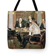 A Showdown Tote Bag by Albert Beck Wenzell