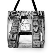 A Sign From Above Jesus Saves Tote Bag