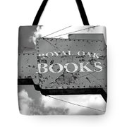 A Sign Of The Times Bw Tote Bag