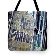A Sign Of Time Gone By Tote Bag