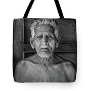A Silent Conversation Bw Tote Bag