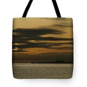A Silhouetted Russian Submarine Tote Bag