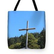 A Simple Cross On Hwy 101 Tote Bag