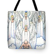A Simple Prayer Tote Bag