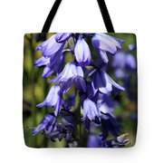 Single Bluebell Tote Bag