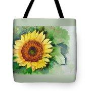 A Single Sunflower Tote Bag