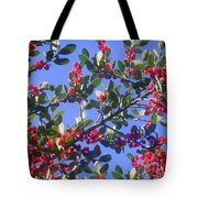 A Sky Full Of Holly Tote Bag
