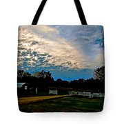 A Sky Like Turquoise And Mother Of Pearl Tote Bag