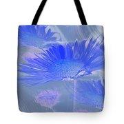 A Slanting Blue Wind  Tote Bag