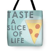 A Slice Of Life Tote Bag by Linda Woods