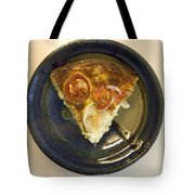A Slice Of Savory Tomato And Cheese Tart Tote Bag