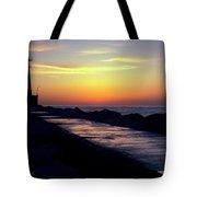 A Sliver Of Sunset Tote Bag