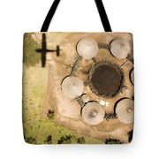 A Small Boma And Family Compound Tote Bag