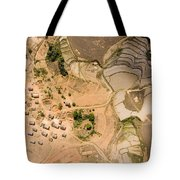 A Small Rice Village In The Central Tote Bag