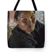 A Smile Of A Burmese Woman Tote Bag