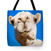 A Smiling Camel Tote Bag