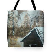 A Snow In Georgia Tote Bag