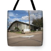 A Snowflake Church Tote Bag