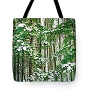 A Snowy Day - Paint Tote Bag